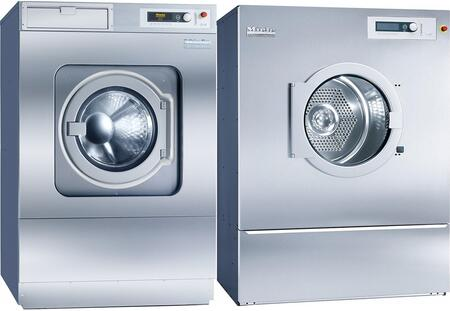 Miele  869638 Washer & Dryer Set Stainless Steel, Main Image