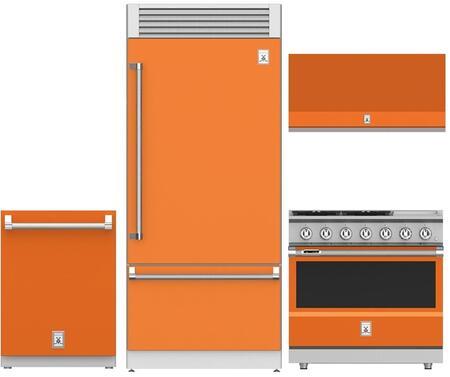 Hestan  963915 Kitchen Appliance Package Orange, 1