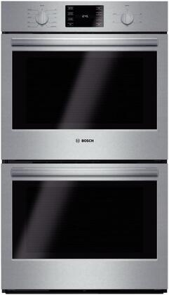 Bosch 500 Series HBL5651UC Double Wall Oven Stainless Steel, Main picture