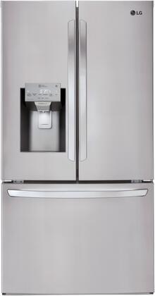LG  LFXC22526S French Door Refrigerator Stainless Steel, Main Image