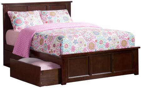 Atlantic Furniture Madison AR8636114 Bed Brown, AR8636114 Main Image