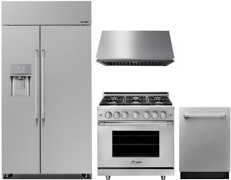 Dacor  1056897 Kitchen Appliance Package Stainless Steel, Main Image