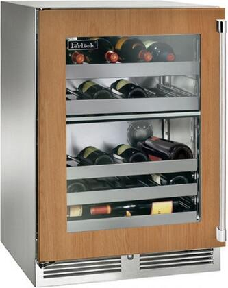 Perlick Signature HP24DS44L Wine Cooler 26-50 Bottles Panel Ready, Main Image