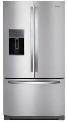 Whirlpool  WRF757SDHZ French Door Refrigerator Stainless Steel, Main Image
