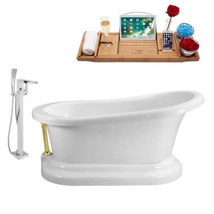 Streamline NH120GLD100 Bath Tub, NH120GLD 100 1T