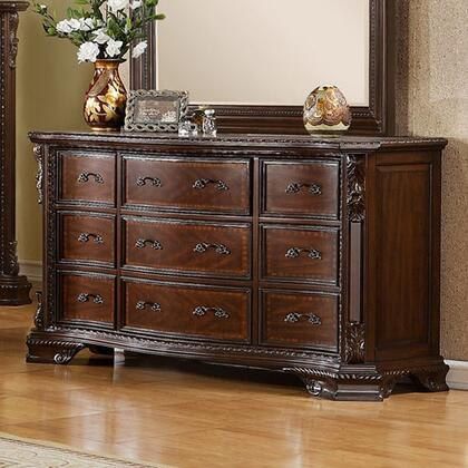 Furniture of America Monte Vista I CM7267D Dresser Brown, Dresser