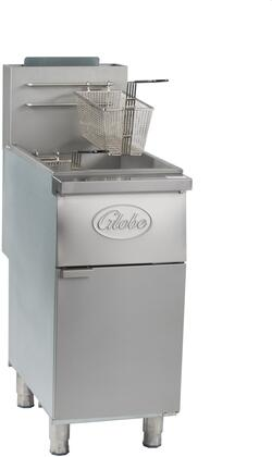 Globe  GFF35G Commercial Fryers and Oil Filtration Stainless Steel, Main Image