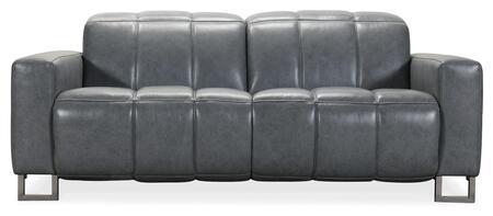 Hooker Furniture MS Series SS638P2096 Loveseat Gray, Silo Image