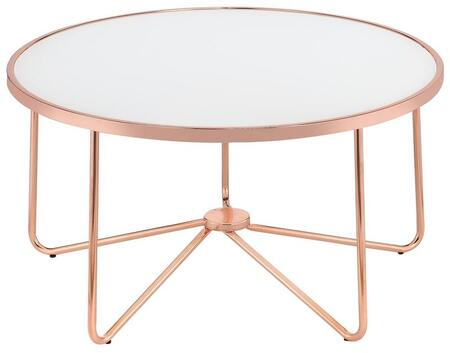 Acme Furniture Alivia 81835 Coffee and Cocktail Table Gold, 1