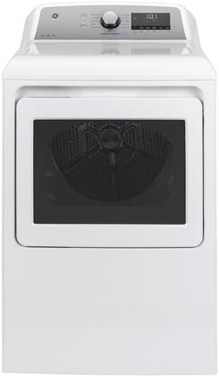 GE GTD84GCSNWS Gas Dryer White, GTD84GCSNWS Front View