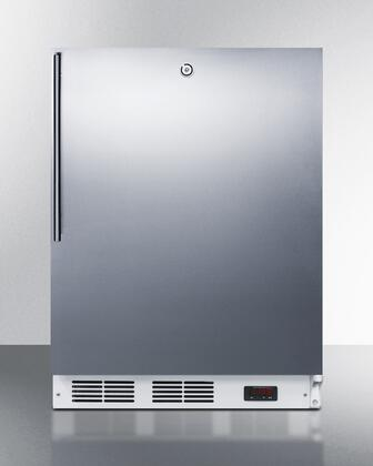 AccuCold  VT65MLSSHVADA Upright Freezer Stainless Steel, VT65MLSSHVADA Compact Freezer
