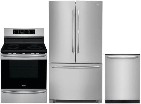 Frigidaire 1101949 Kitchen Appliance Package & Bundle Stainless Steel, main image
