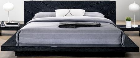 Furniture of America Christie CM7540BED Bed Black, 1
