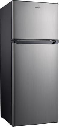 Galanz  GLR10TS5F Top Freezer Refrigerator Stainless Steel, GLR10TS5F Top Freezer Refrigerator