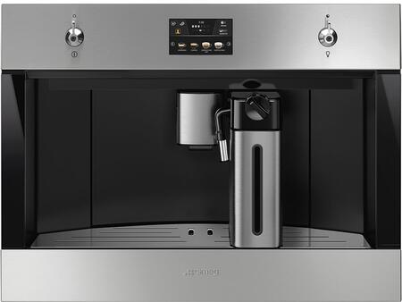Smeg Classic CMSU4303X Built-In Coffee System Stainless Steel, CMSU4303X Classic Fully Automatic Coffee Machine