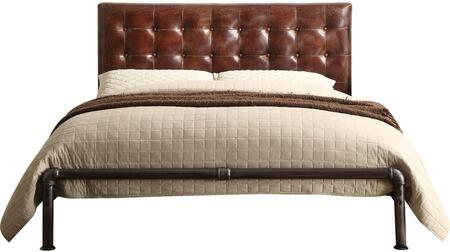 Acme Furniture Brancaster 26210Q Bed Brown, Front View