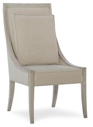Hooker Furniture Elixir 599075500LTWD Dining Room Chair Gray, Silo Image
