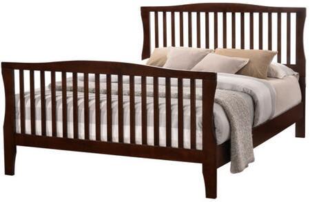 Furniture of America Riggins CM7070FBED Bed Brown, 1