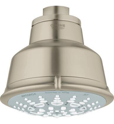 Relexa Rustic 100 27126EN1 2.5 GPM Five Shower Head 5 Sprays  in Brushed