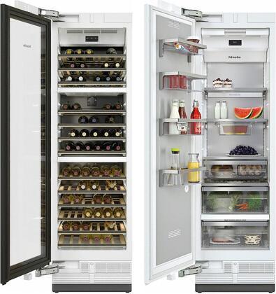 Miele  1083018 Column Refrigerator & Freezer Set Panel Ready, Main Image