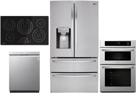 LG  1376008 Kitchen Appliance Package Stainless Steel, Main image