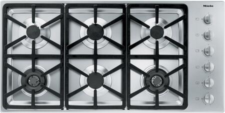 Miele  KM3484G Gas Cooktop Stainless Steel, Main Image