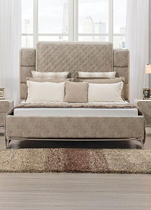 Acme Furniture Kordal 27200Q Bed Beige, Front View