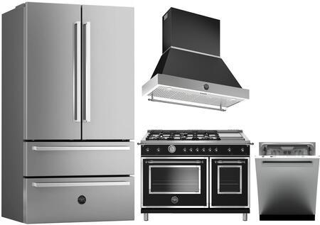 Bertazzoni 1128187 Kitchen Appliance Package & Bundle Stainless Steel, Main Image