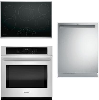 Monogram 889885 Kitchen Appliance Package & Bundle Stainless Steel, main image