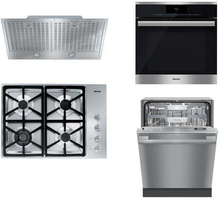 Miele 888402 Kitchen Appliance Package & Bundle Stainless Steel, 888402