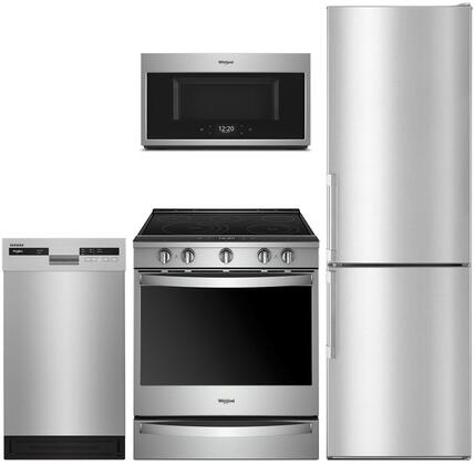 Whirlpool  1009978 Kitchen Appliance Package Stainless Steel, main image