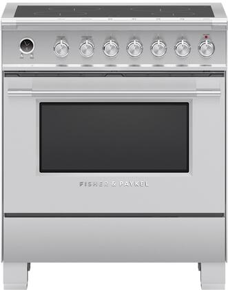 Fisher Paykel Classic OR30SCI6X1 Freestanding Electric Range Stainless Steel, OR30SCI6X1 Classic Induction Range