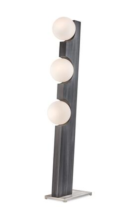 2711428CG Incline Floor Lamp in Charcoal