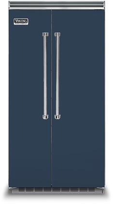 Viking 5 Series VCSB5423SB Side-By-Side Refrigerator Blue, VCSB5423SB Side-by-Side Refrigerator