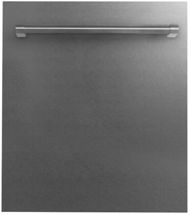 DW-SS-H-24 24″ Fully Integrated Dishwasher with 20 Place Settings  3 Mesh Filters  40 dBA  EcoWash Technology  Energy Star Compliant  Traditional