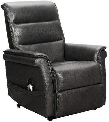Luka Collection 23PH3634370895 Lift Chair Recliner with Power Head Rest and Split Back Cushions in  Venzia