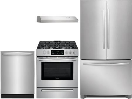 Frigidaire 1052089 Kitchen Appliance Package & Bundle Stainless Steel, main image