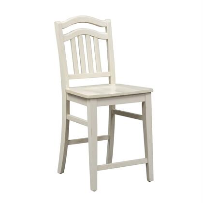 Liberty Furniture Summer Hills 518C150124 Bar Stool White, Front View