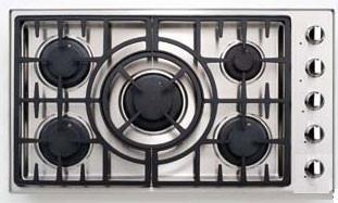 Capital Maestro MCT365GSL Gas Cooktop Silver, Main Image
