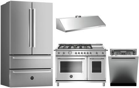 Bertazzoni 1054745 Kitchen Appliance Package & Bundle Stainless Steel, main image
