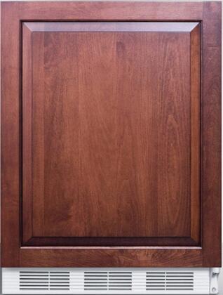 AccuCold FF7BI FF7BIIF Compact Refrigerator Panel Ready, Main Image