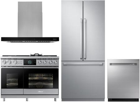 Dacor  1056827 Kitchen Appliance Package Stainless Steel, main image