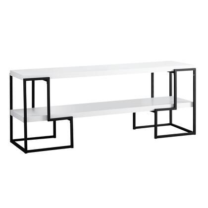 I 2731 Tv Stand – 60″L / White / Black