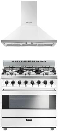 Smeg 1054372 Kitchen Appliance Package & Bundle White, main image
