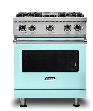 Viking 5 Series VGR5304BBWLP Freestanding Gas Range Blue, VGR5304BBWLP Gas Range