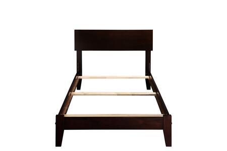 Atlantic Furniture Orlando AR8111031 Bed Brown, AR8111031
