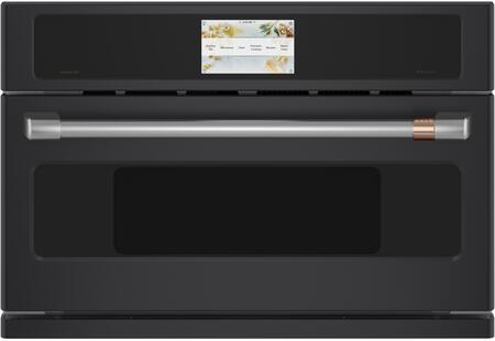 Cafe  CSB923P3ND1 Single Wall Oven Black, Main Image