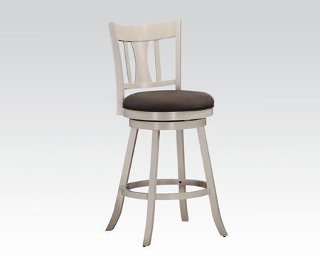Acme Furniture Tabib 962134 Bar Stool White, 1