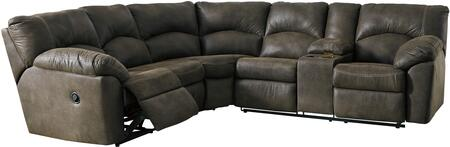 Signature Design by Ashley Tambo 278024849 Sectional Sofa Brown, 27802 48 49 OPEN