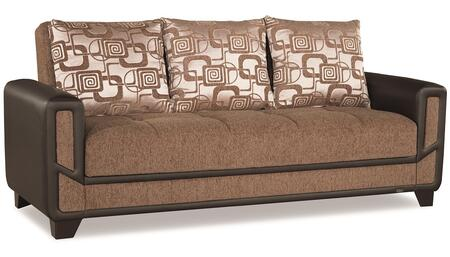 Casamode Mondo Modern MONDOMODERNSOFABEDBrown05581 Sofa Bed Brown, Main Image